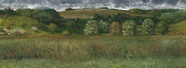 Landscape with Chestnut Trees