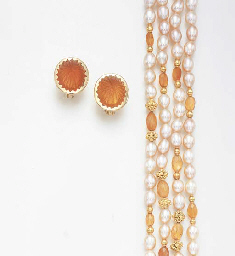 A SUITE OF FIRE OPAL AND FRESH
