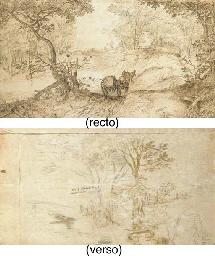 Un paysage forestier avec une