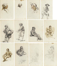 Un album de 80 dessins représe