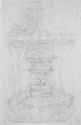 Projet pour une fontaine (rect