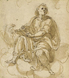 Saint Jean l'Evangeliste assis