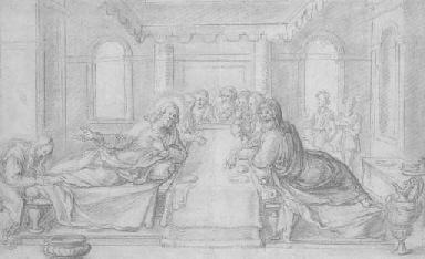 Le Christ chez Simon le Pharis