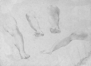 Quatre études de jambes
