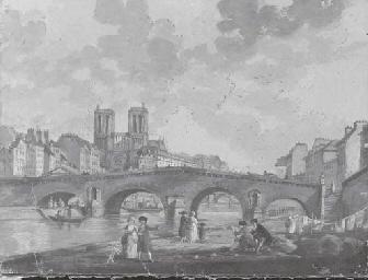 Vue de Notre-Dame depuis la Se