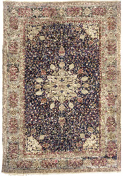 An antique Agra small carpet