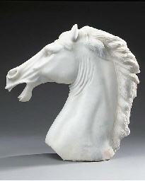 A modern Chinese carved white