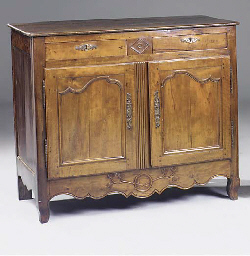 French provincial fruitwood an
