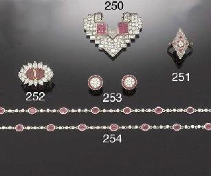 A CALIBRÉ RUBY, DIAMOND AND BA