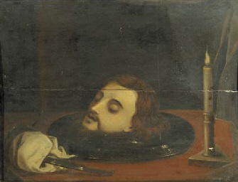 The Head of St John the Baptis