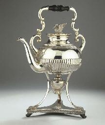 A German silver samovar