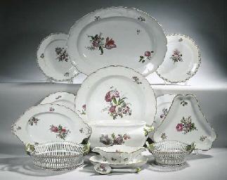 A Berlin KPM porcelain 'Neugla