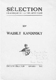 KANDINSKY, Wassily (1866-1944,
