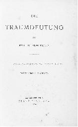 FREUD, Sigmund (1856-1939). Di