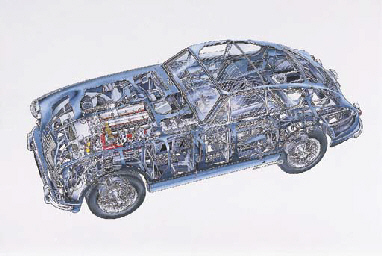 Aston-Martin DB2/4; full colou