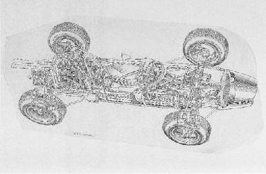 Brabham Climax V-8 Formula 1 1