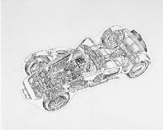 Lotus Seven 105E Ford 1954 - 2