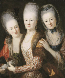 Group portrait of the daughter