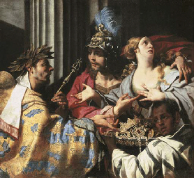 Agamemnon refusing to allow Ch