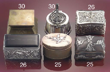 An electro-plated stamp box