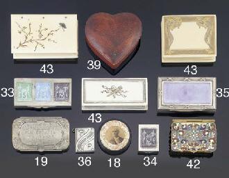 A single stamp case