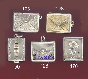 An envelope-style stamp case