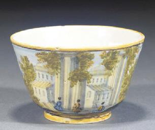 A Castelli teabowl
