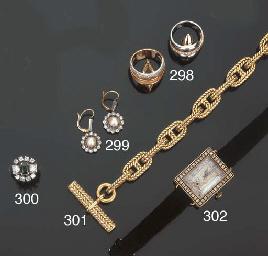 Orologio in oro e diamanti