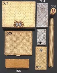 Trousse in oro, argento dorato