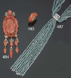 Anello a fascia in corallo