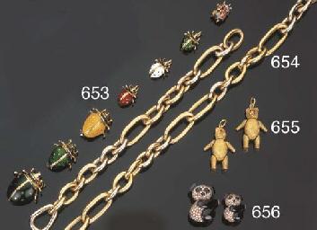 Collana e bracciale in oro, fi