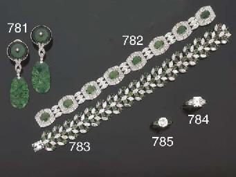 Anello con brillante e smerald