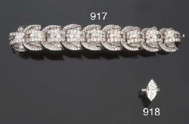 Bracciale in diamanti, firmato