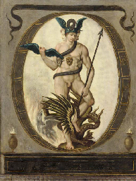 An Allegory of Alchemy
