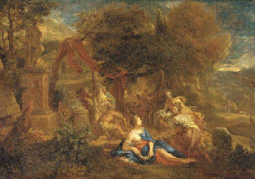 A classical landscape with an
