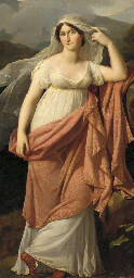 Portrait of a lady, standing f