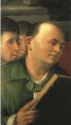 A gentleman reading from a psa