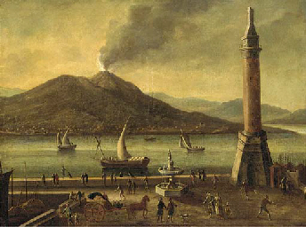A view of Vesuvius, from the M