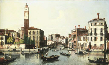 The Grand Canal, Venice, and t