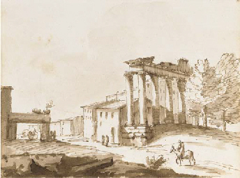 The Temple of Concord, Rome; A