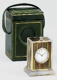 A French silver-gilt, agate an