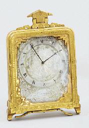 A Victorian engraved gilt-meta