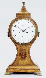 A Regency inlaid satinwood str