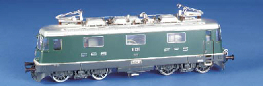 A Hermann Swiss four-axle Bo-B