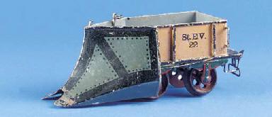 A  Märklin Gauge II two-axle S