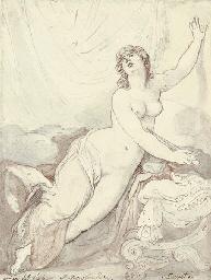 Lucretia, after Andrea del Sar