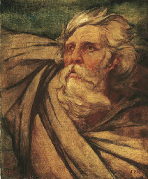 King Lear in the Storm  Blow,