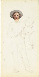 Study of a young tennis player