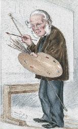 Caricature of William Powell F