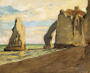The Arched Cliff at Etretat
